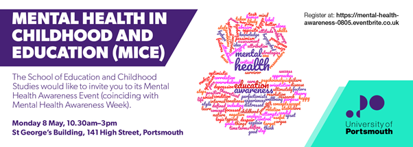 Mental Health Awareness Event (8th of May) – How can we improve mental health in children & young people?